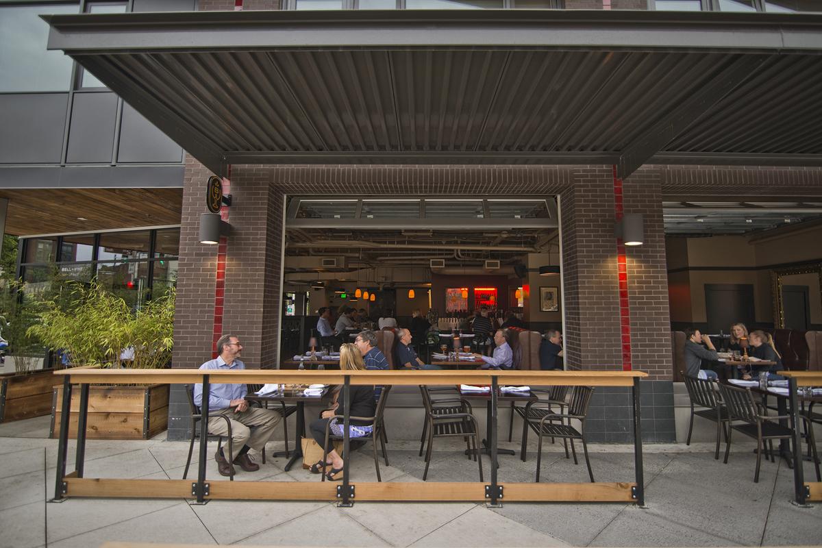 Bell + Whete patio