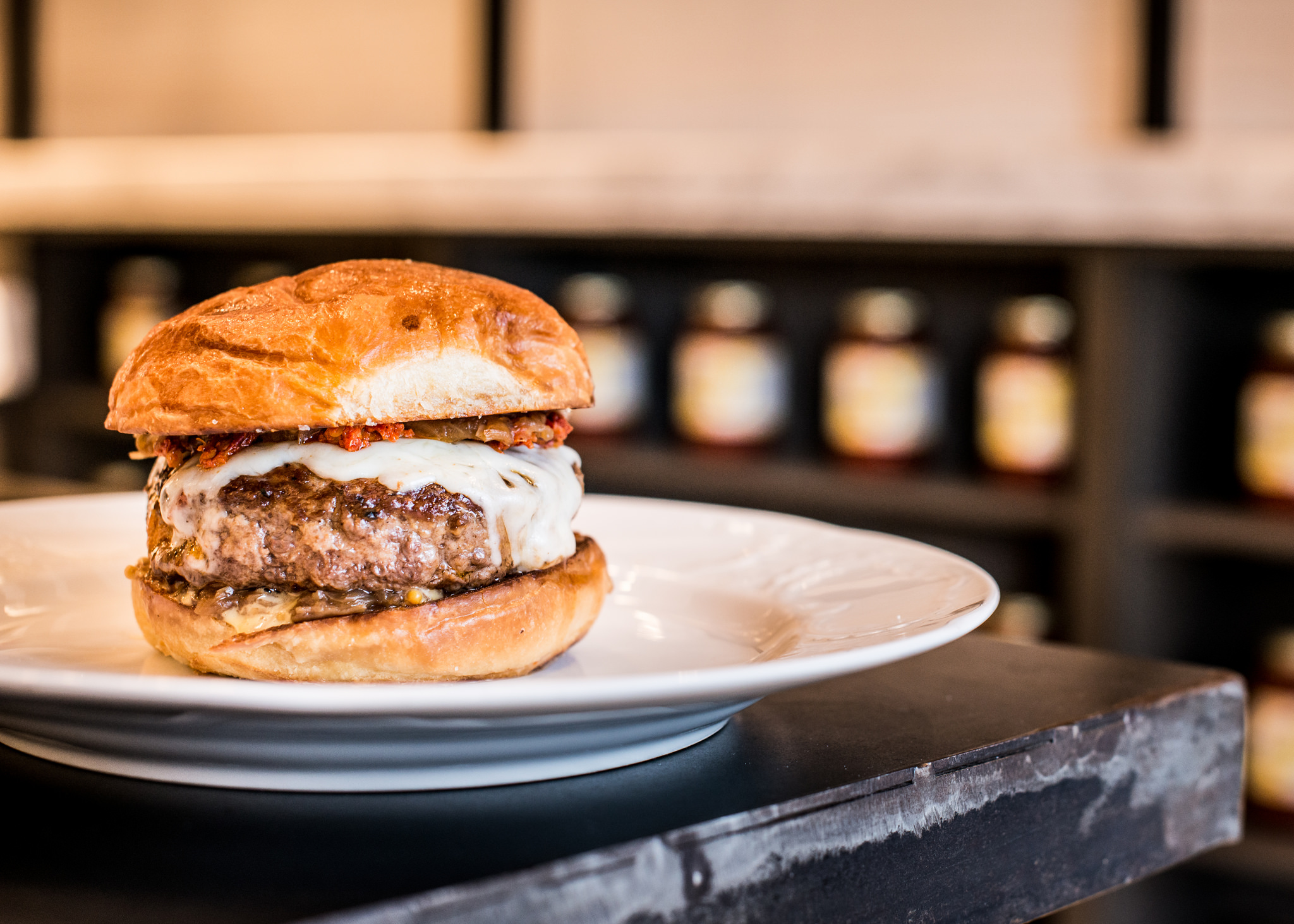Formento's Juicy Lucy burger