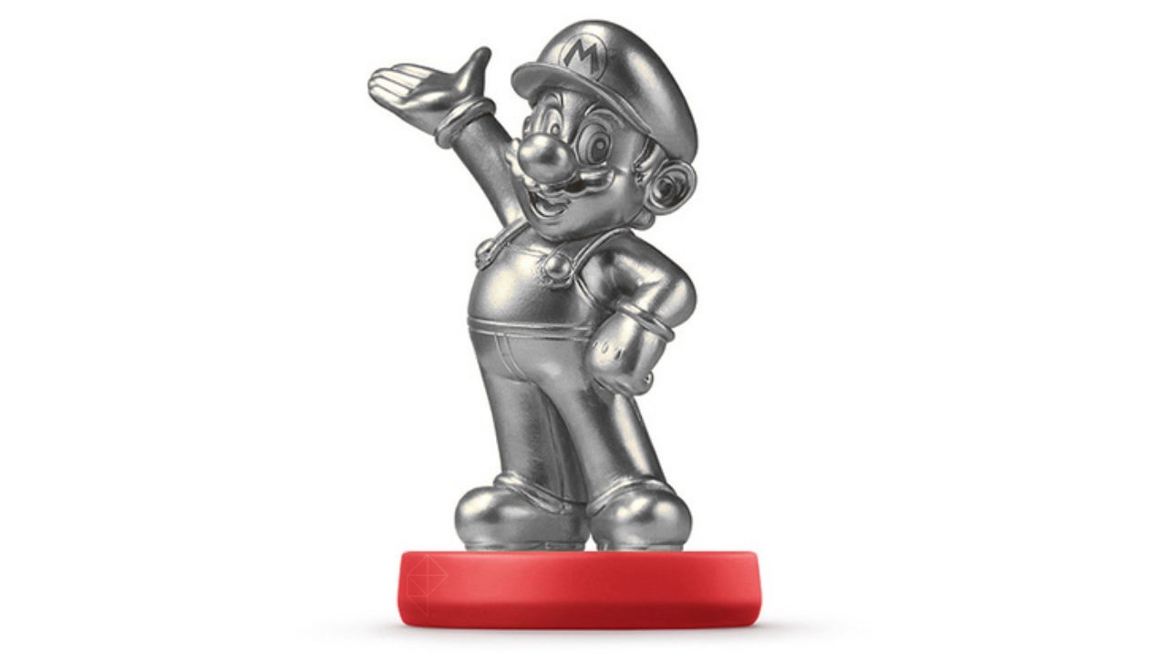 Silver Mario amiibo spotted in the wild came from a mysterious Chinese site