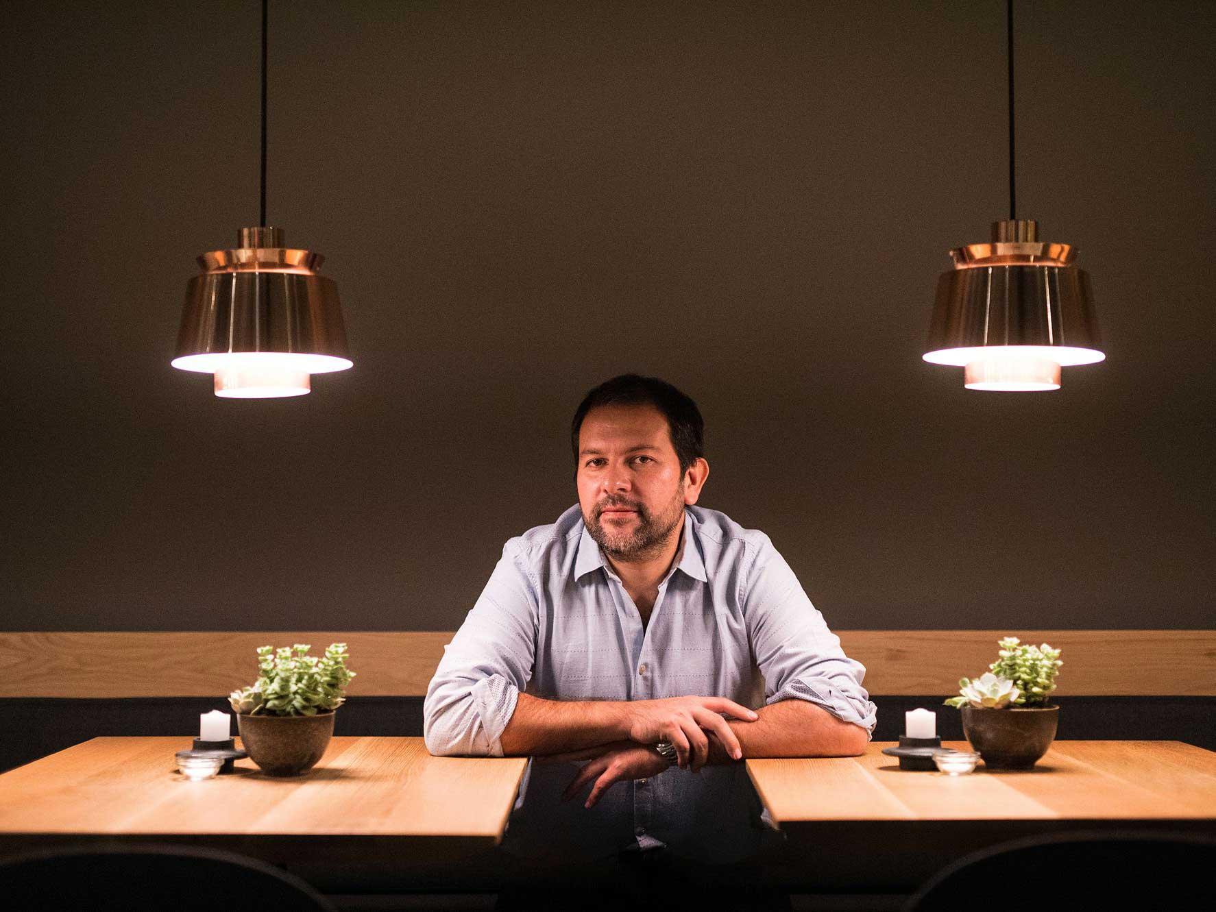 Chef Enrique Olvera.
