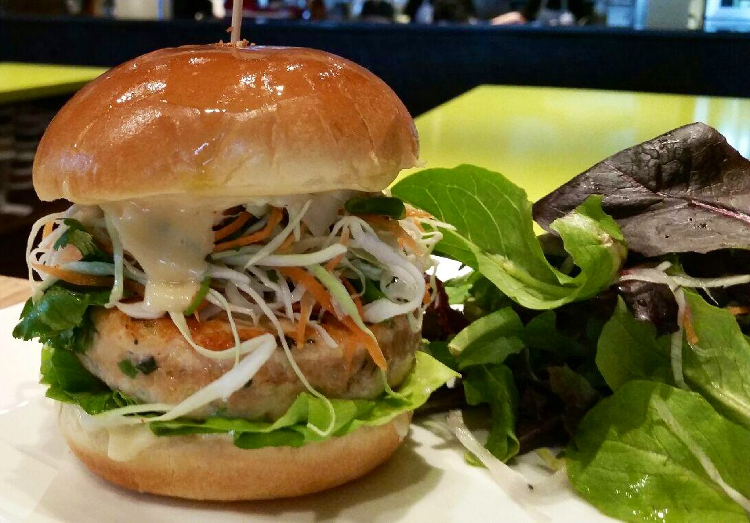 10 Seafood Burgers To Try in The Washington Area