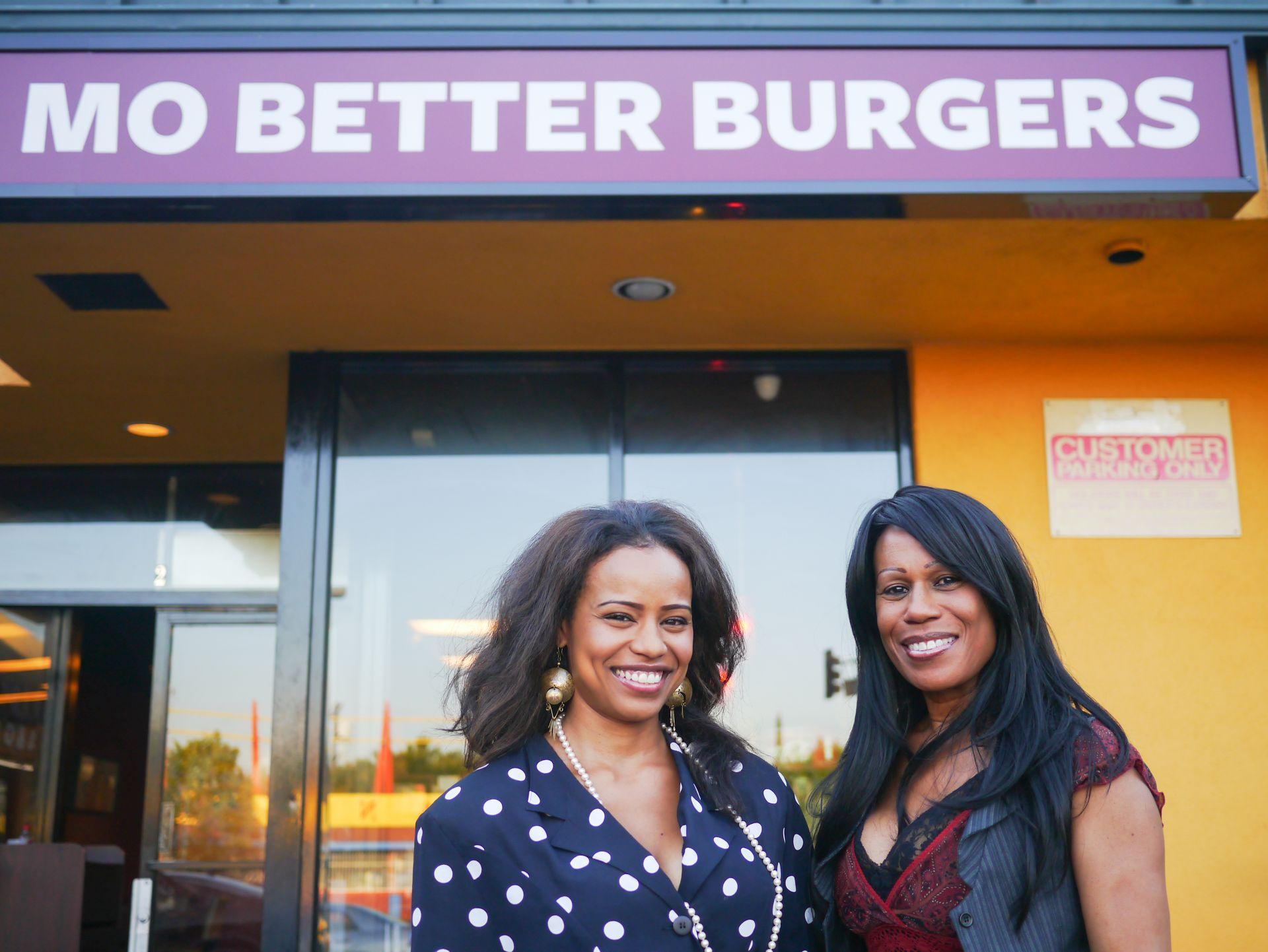 Mo Better Burgers Eve Fouche, Tami Bennett
