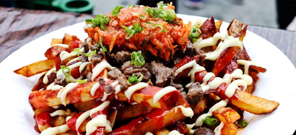 Gamja Fries at Namu Gaji