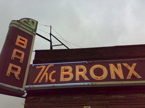 Bronx Bar.