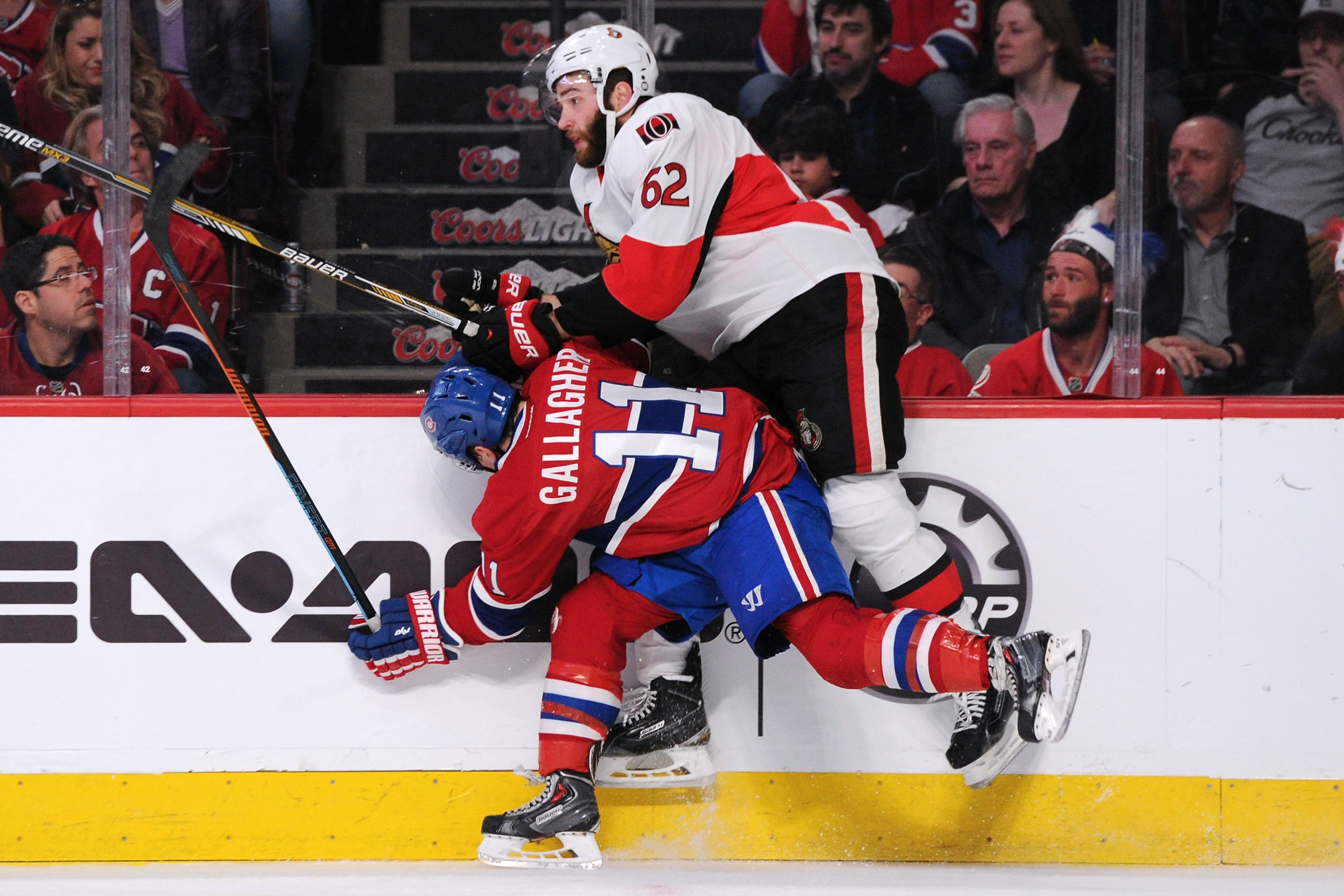 Two players that had a key role in the 3-2 OT victory by the Habs over the Sens.