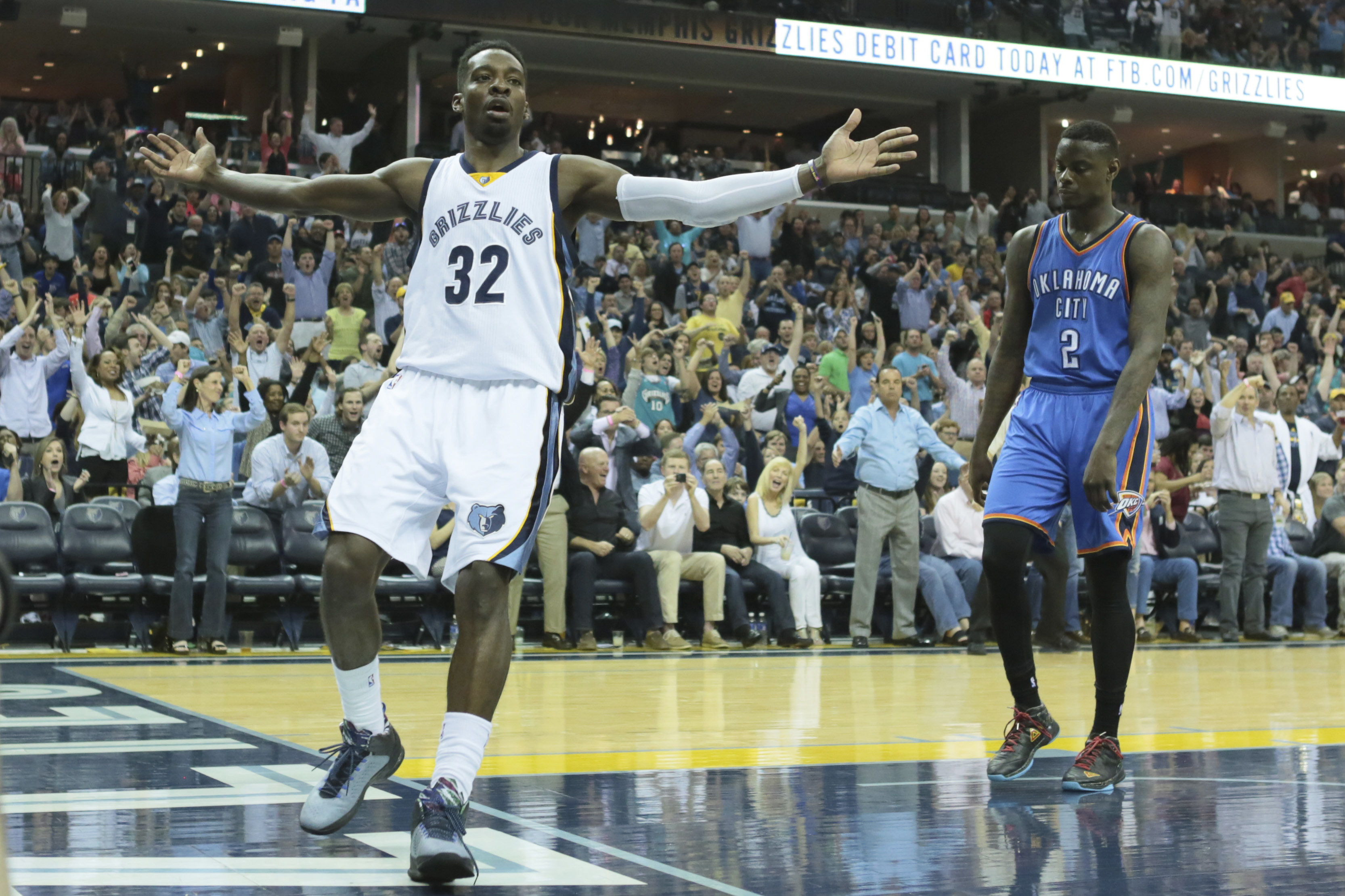 Jeff Green is hoping to entertain the Grizzlies faithful against the Portland Trail Blazers