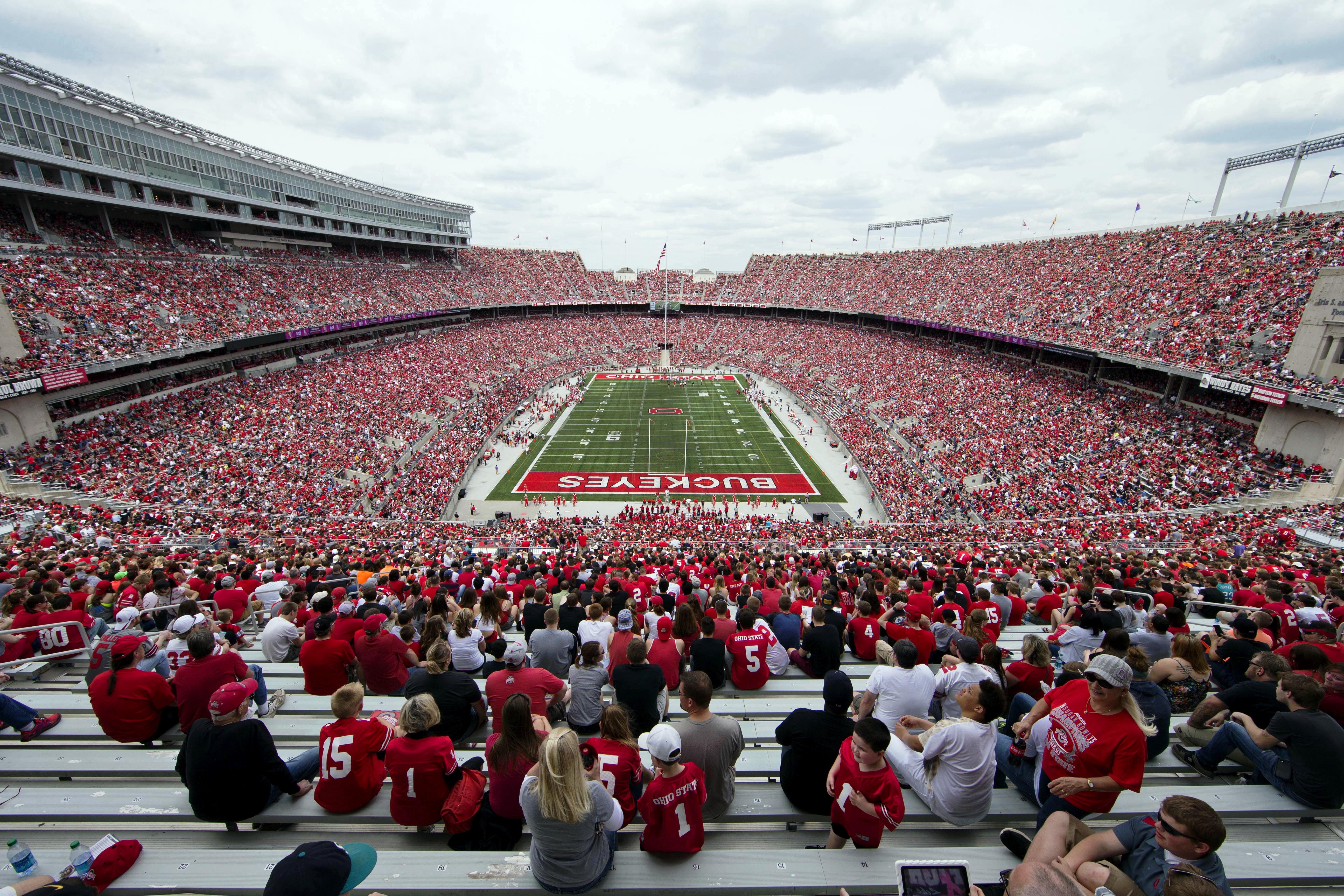 2015 spring game attendance standings: Ohio State sets record, Big Ten dominates