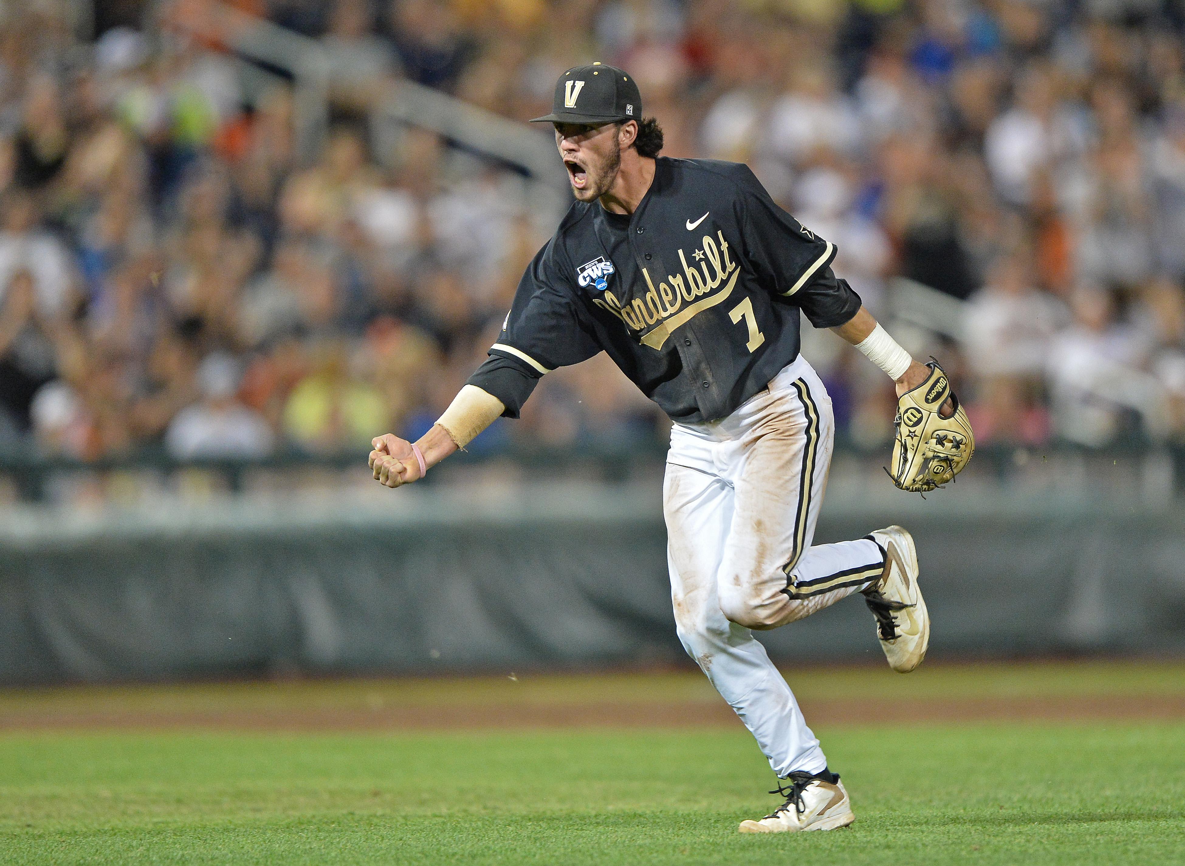 Vanderbilt infielder Dansby Swanson