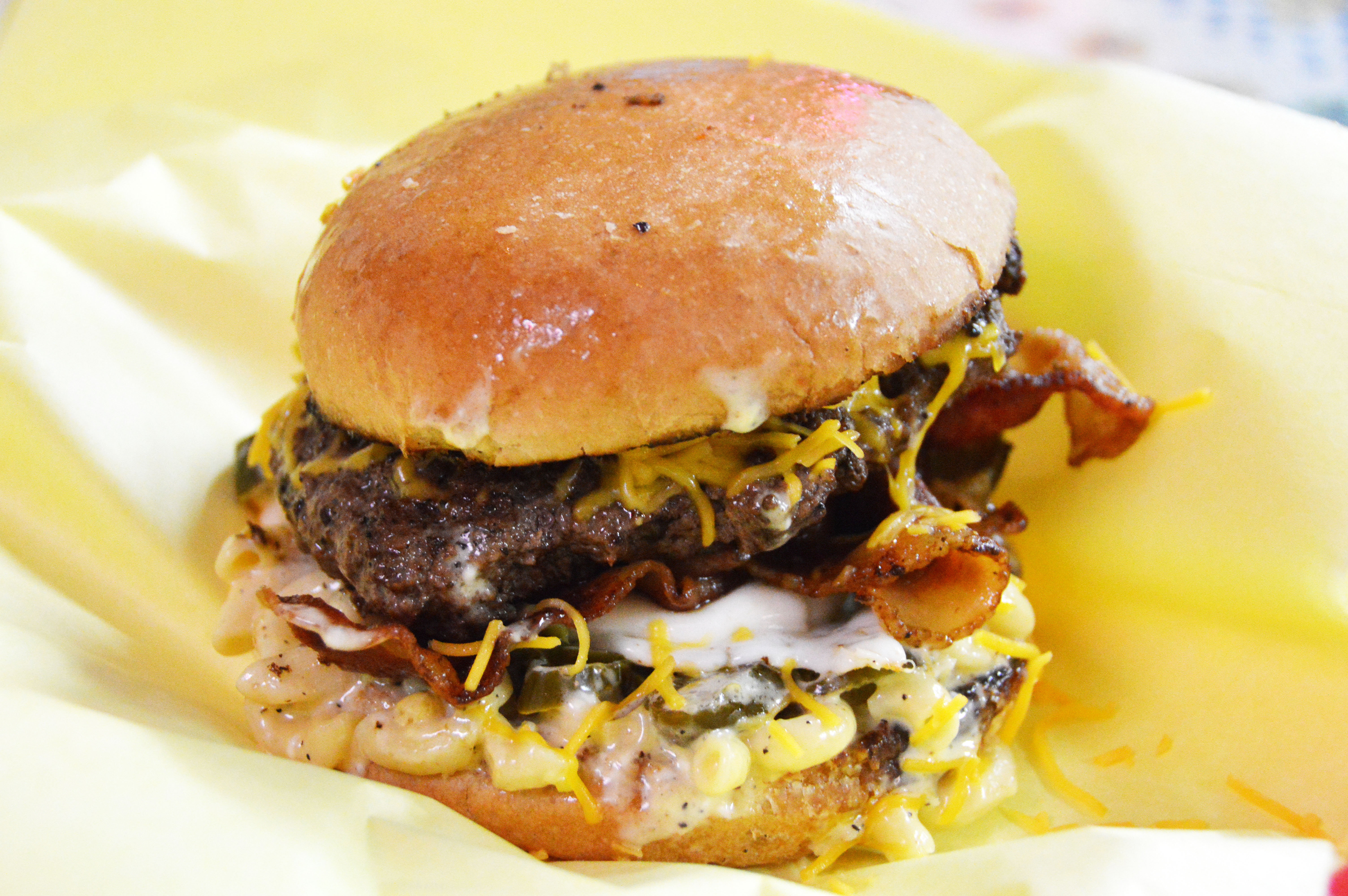The Grim Burger from Lankford Grocery & Market