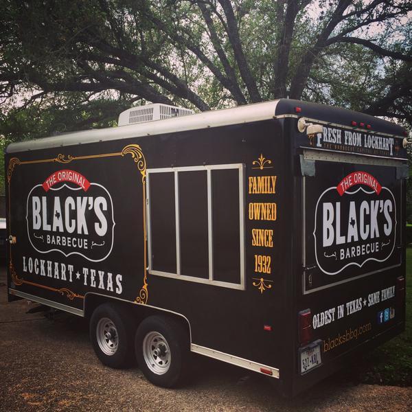 Black's Barbecue's truck