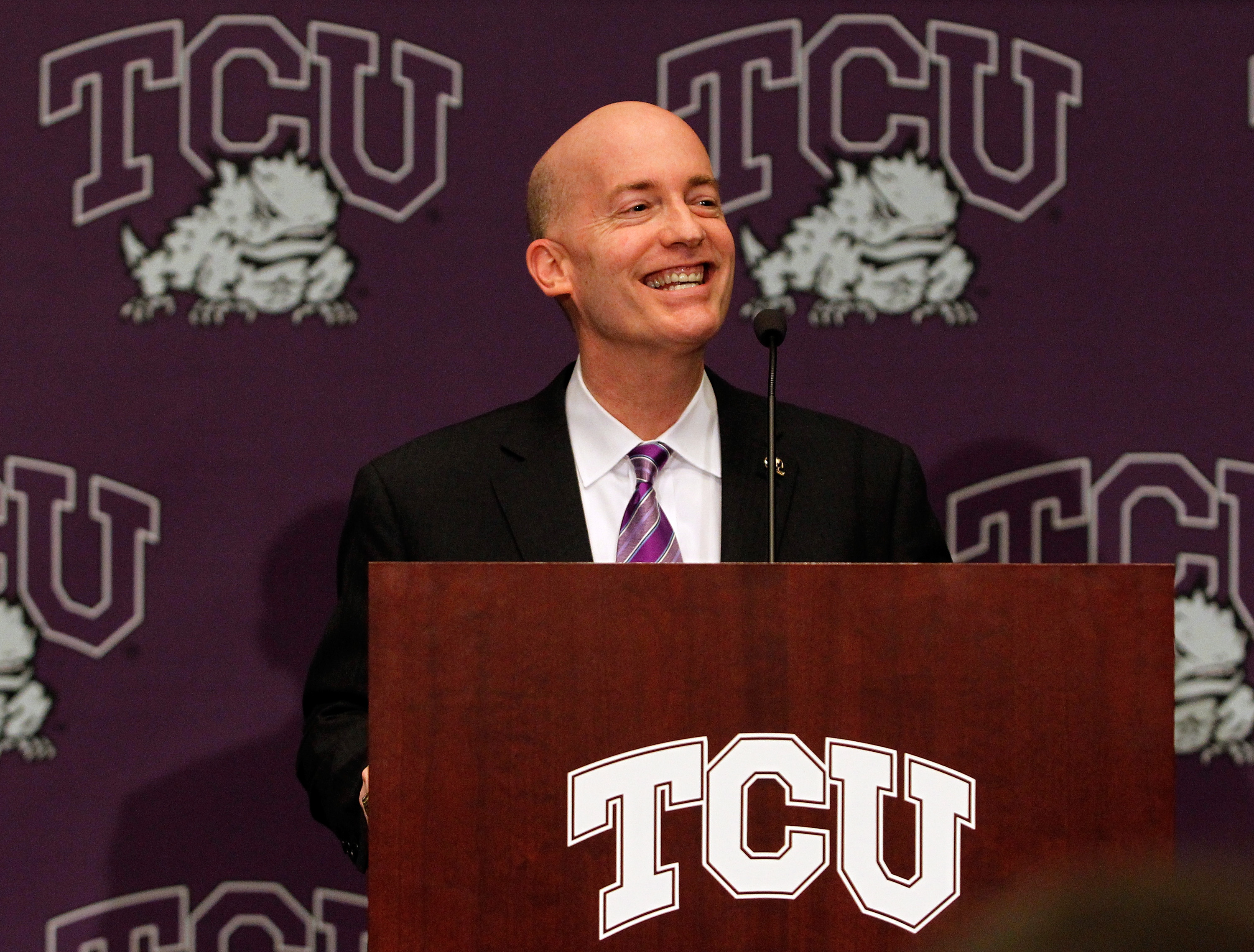 Victor Boschini has led TCU through a financial rebirth, and into the Big 12.