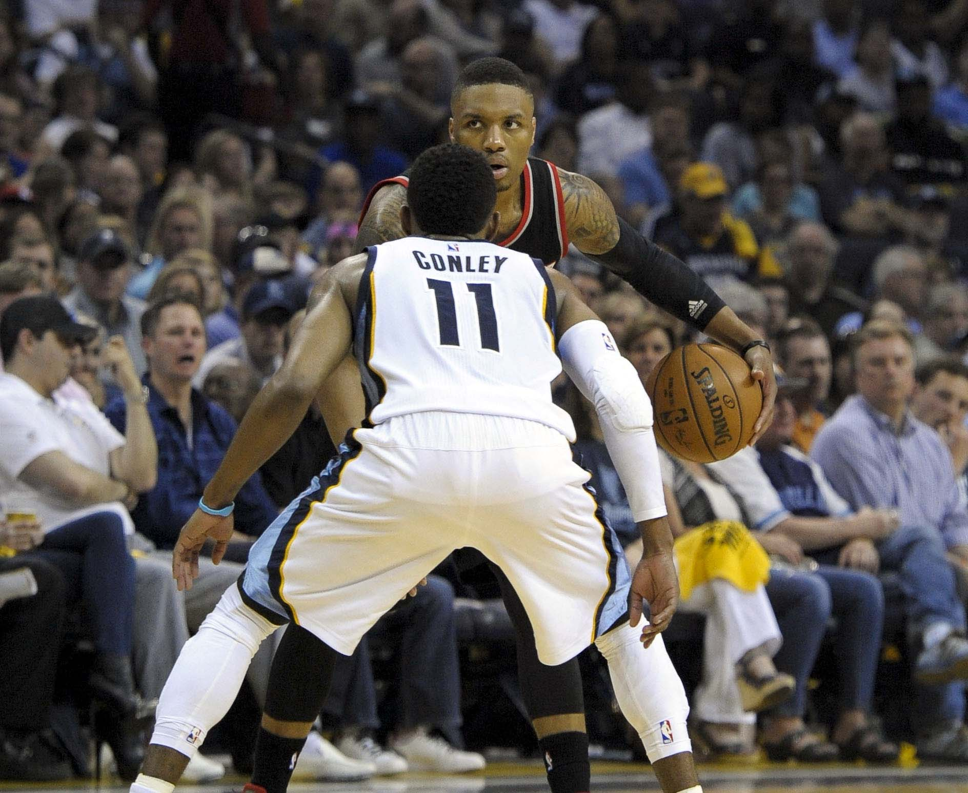Conley vs. Lillard will continue to be a key match-up in Game Two and beyond.