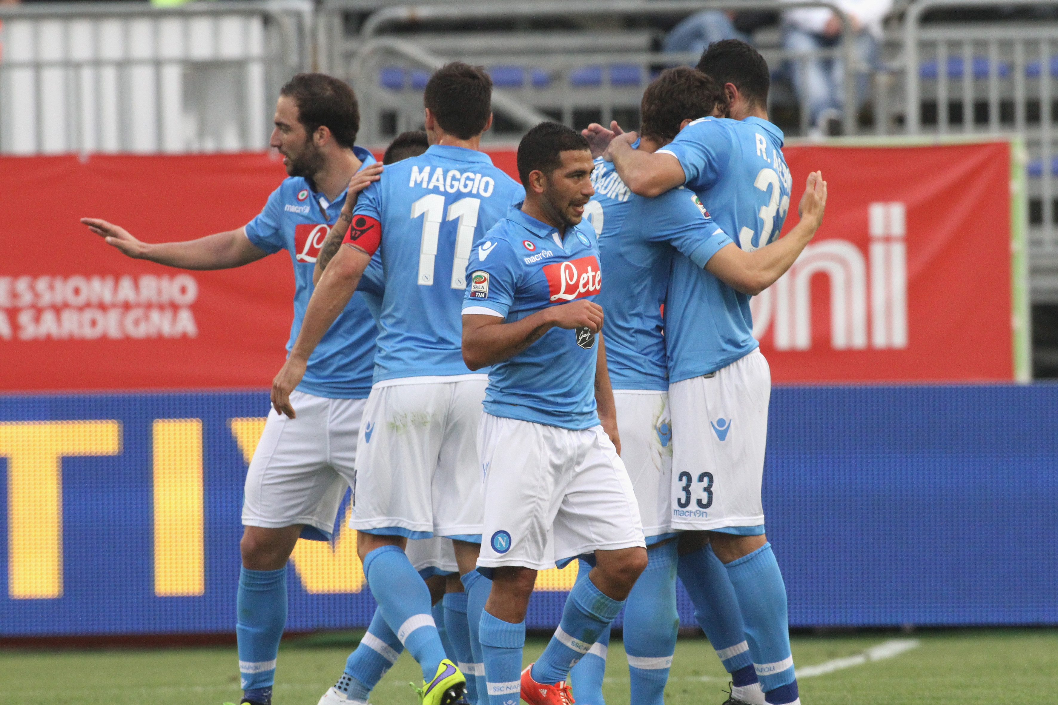 Things look a lot better for Napoli after a recent winning streak