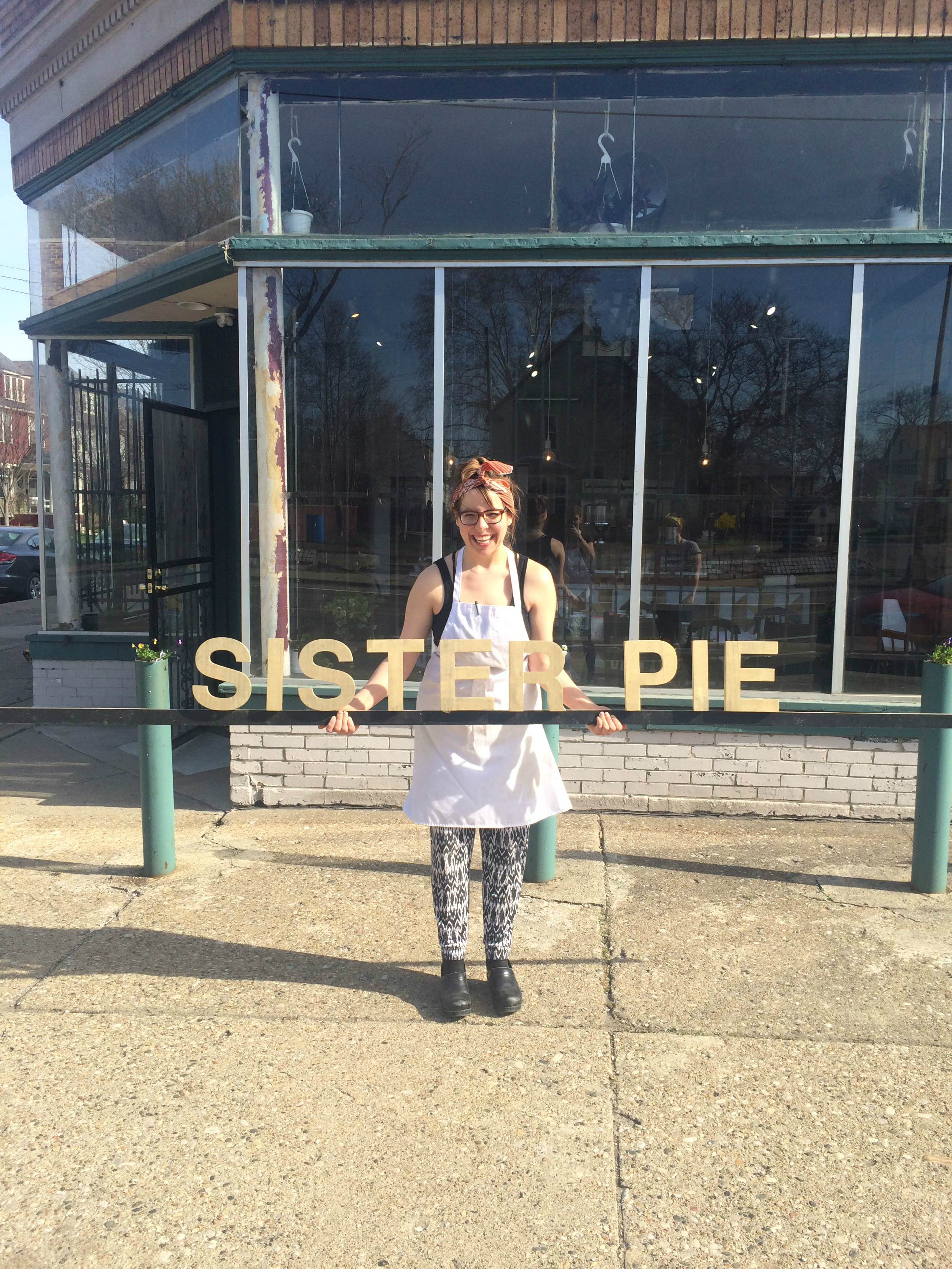 Owner Lisa Ludwinski's pie bar will debut this Friday.