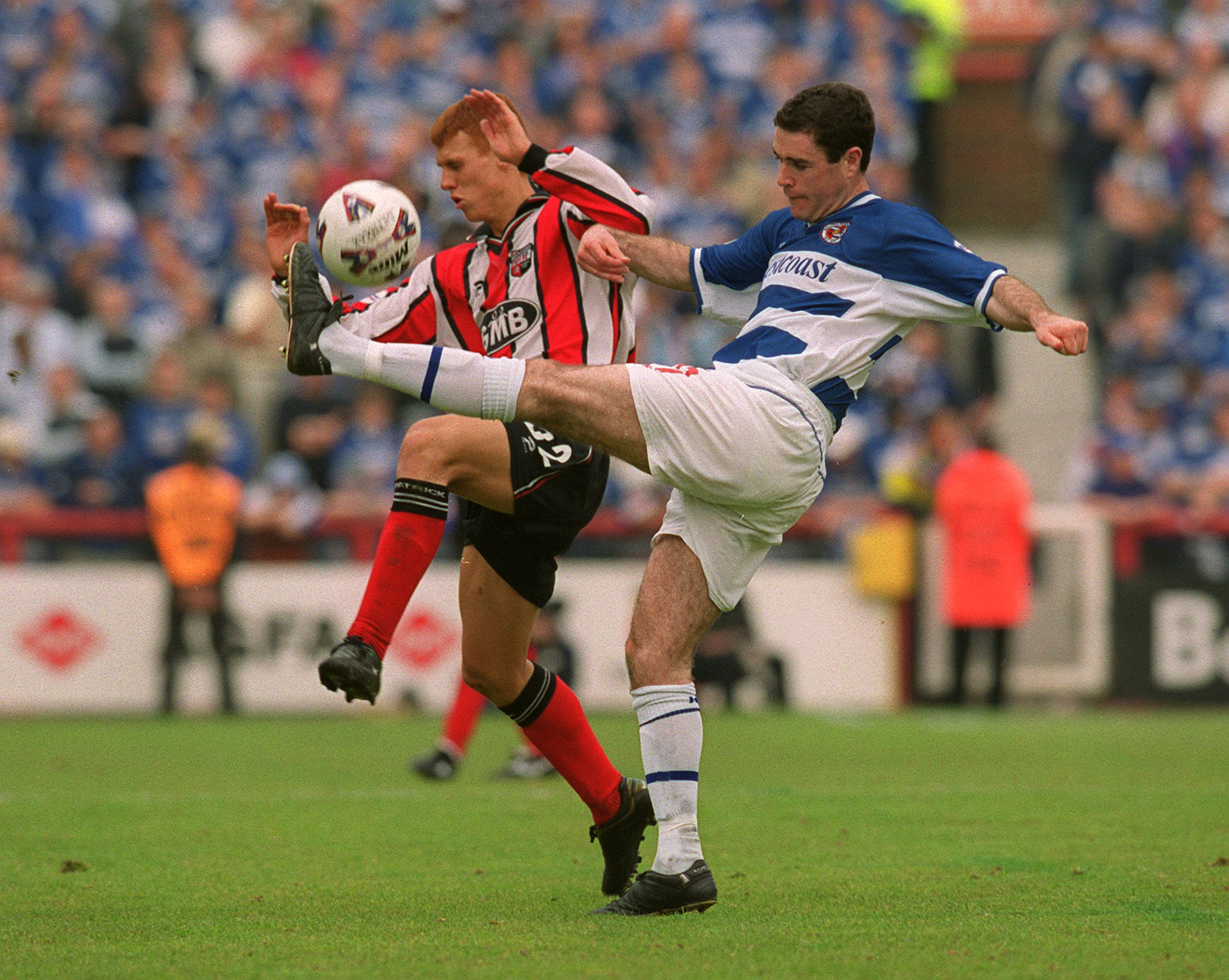 Andy Hughes and some ex-Arsenal bloke.