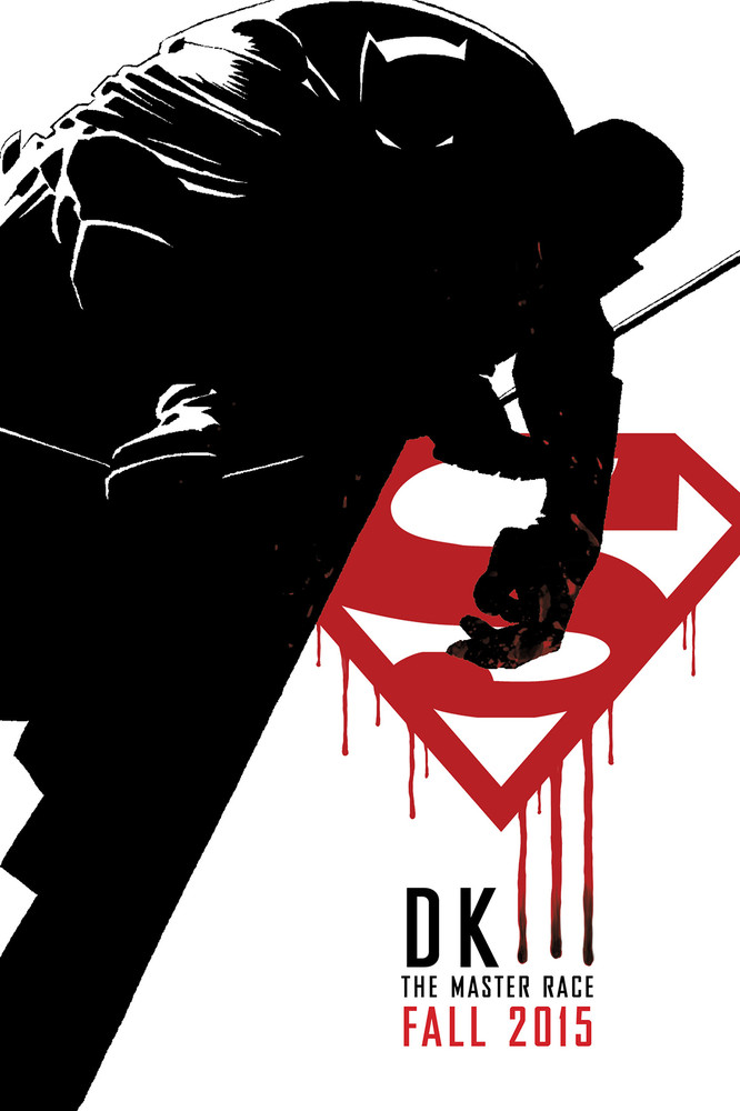 DC Comics announces The Dark Knight 3: The Master Race graphic novel from Frank Miller