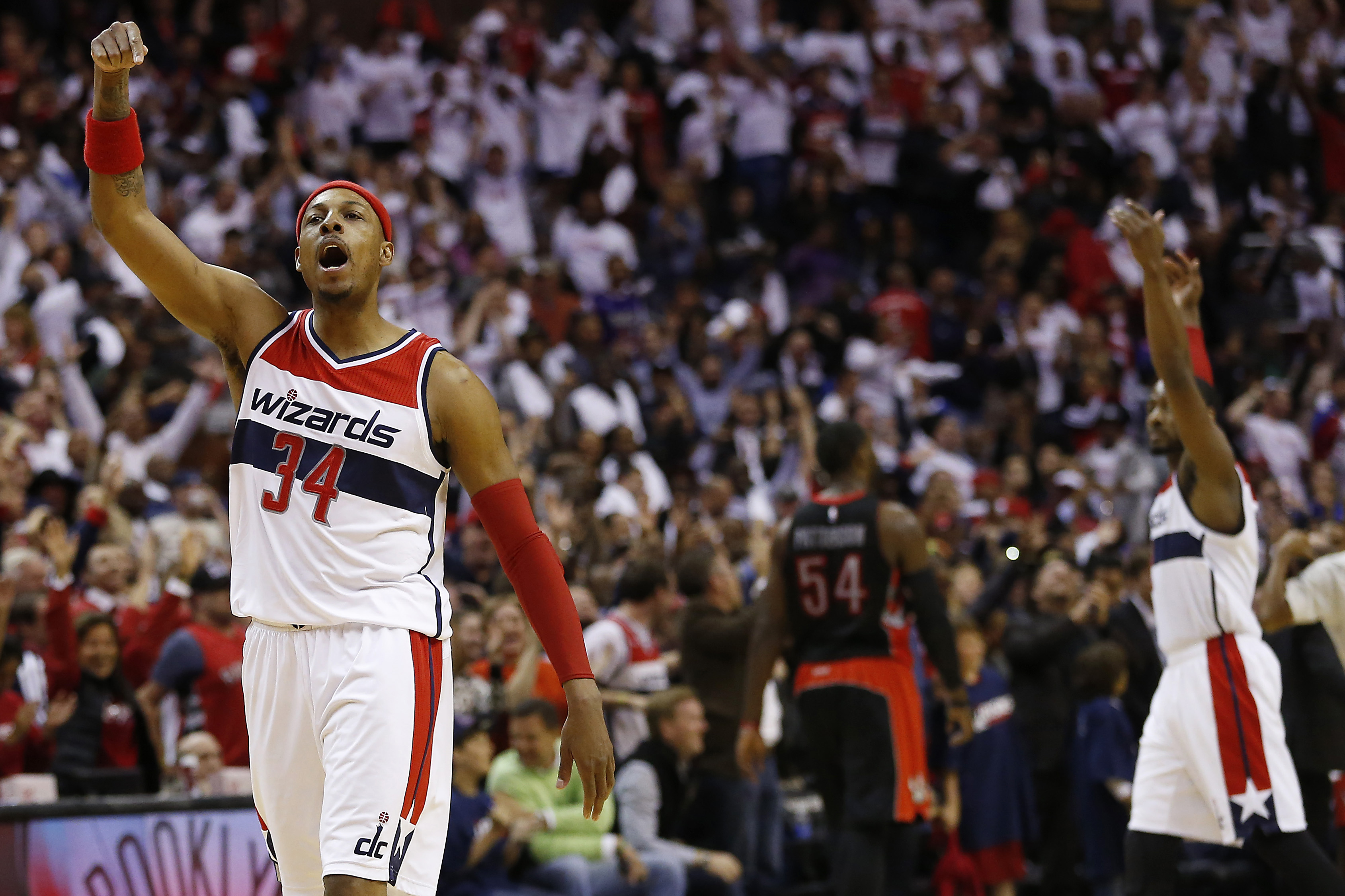 This is why the Wizards brought Paul Pierce to Washington