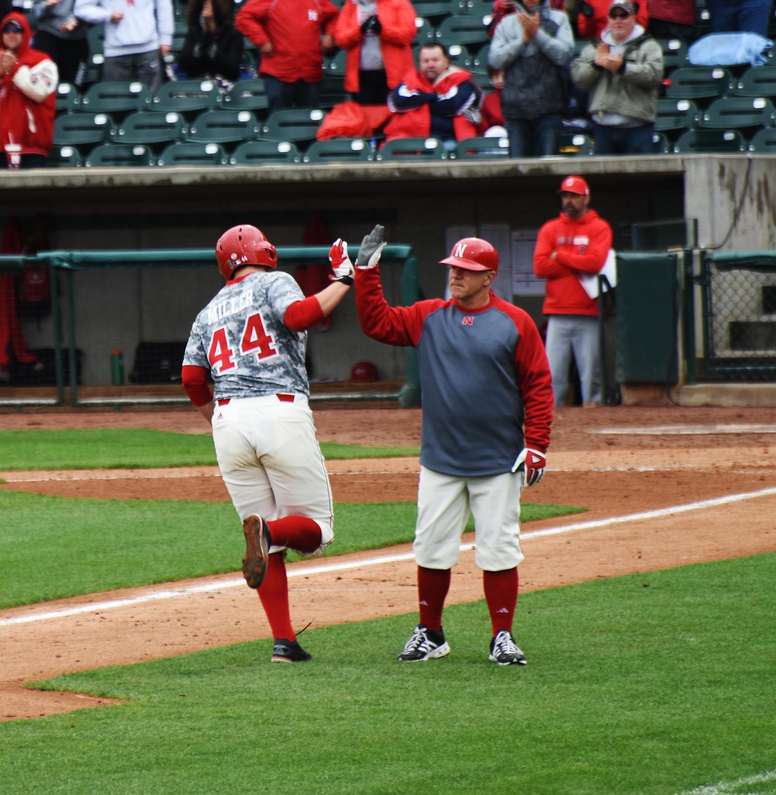 Ben Miller will look to continue his home run streak