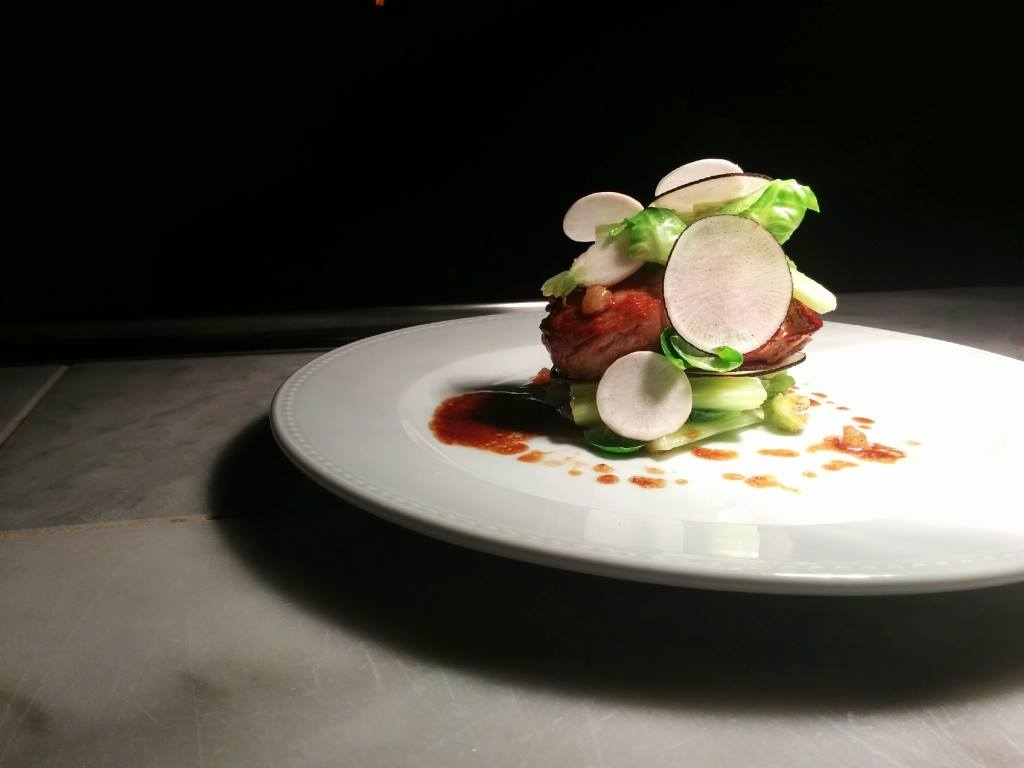 A dish from Cirkus chef Julien Joré