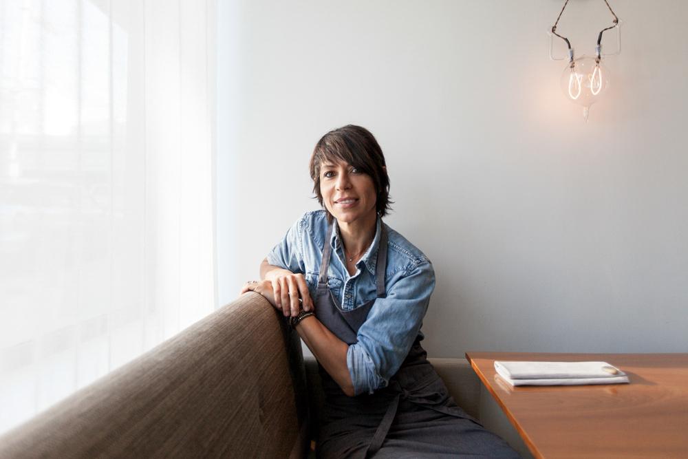 Dominique Crenn at Atelier Crenn