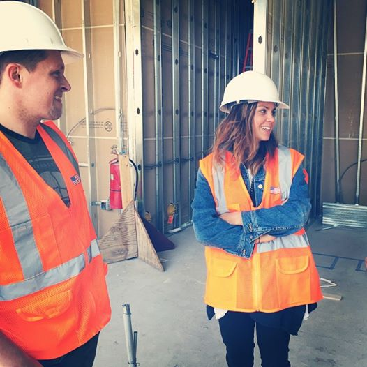 Co-owners Dustin Audet and Ali Elman