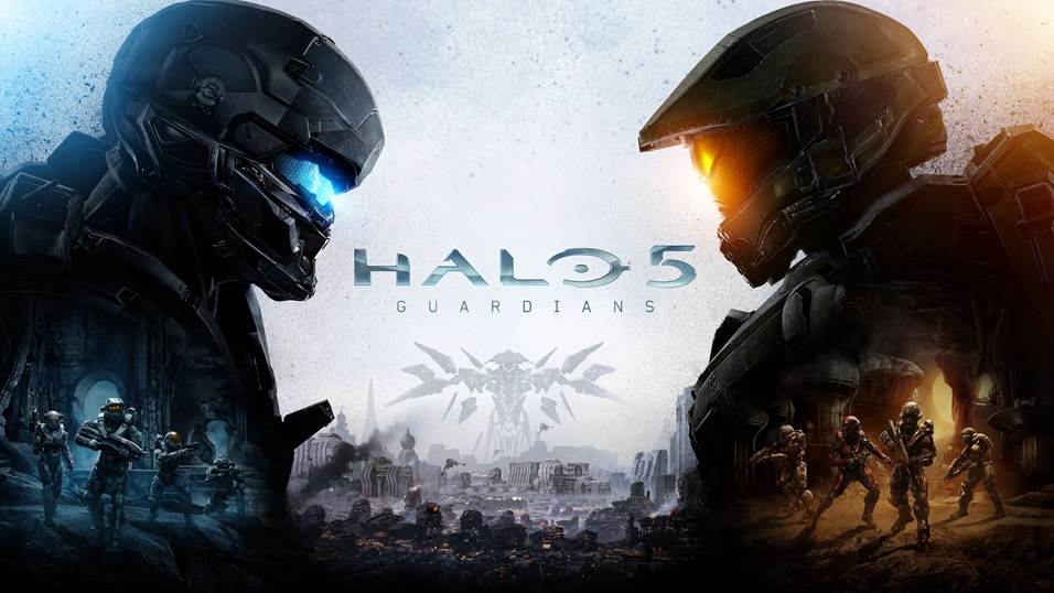 Here's the Halo 5: Guardians cover art