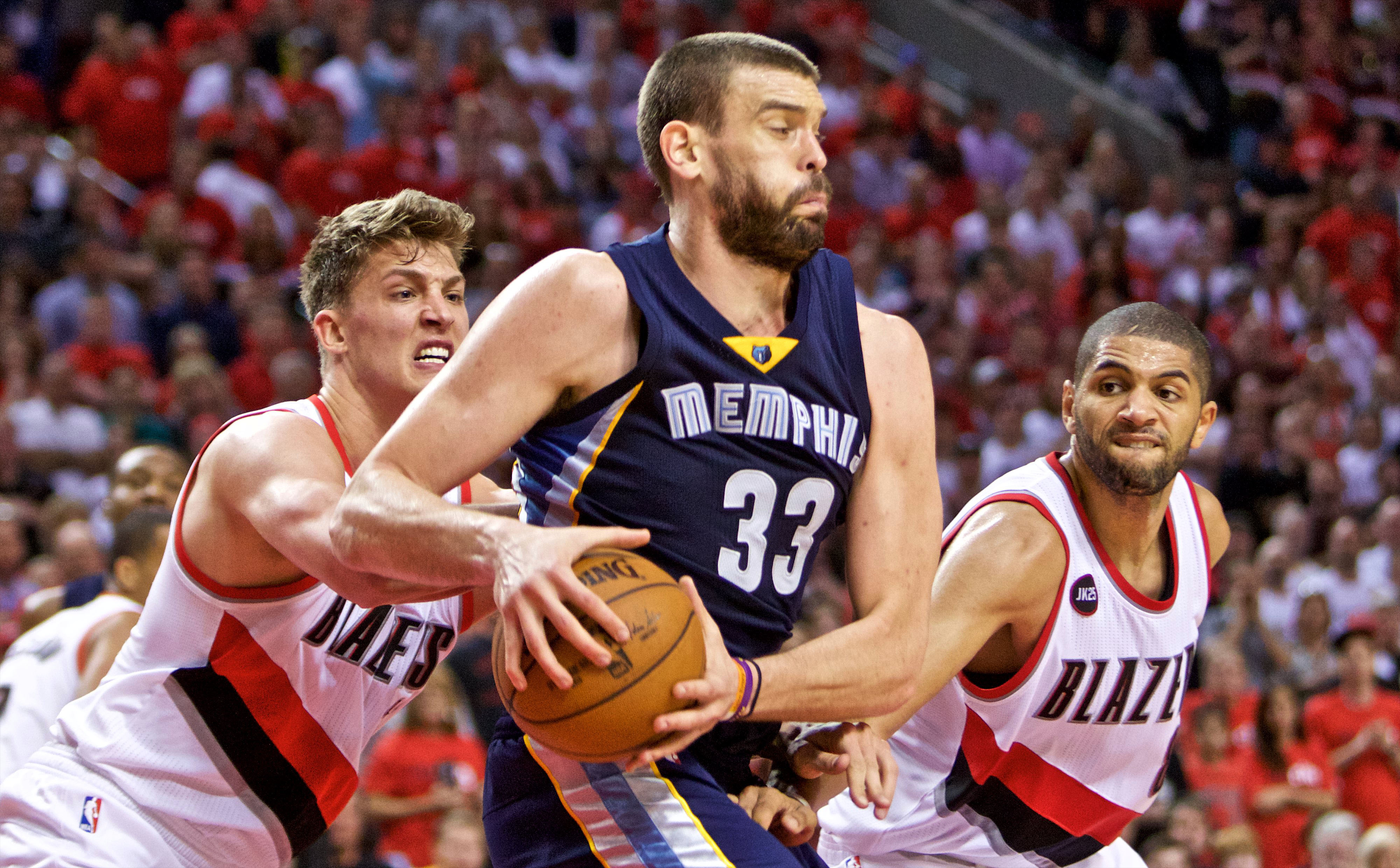 Marc Gasol must lead the Grizzlies' front court in order to finish Portland in the Grindhouse.