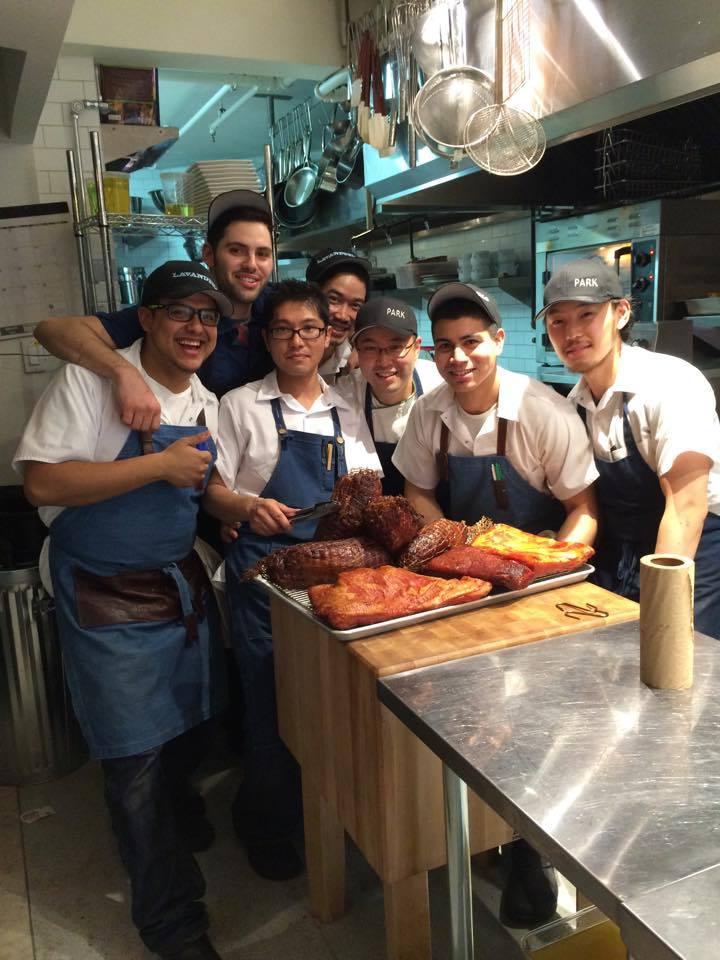 Antonio Park and his Lavanderia crew
