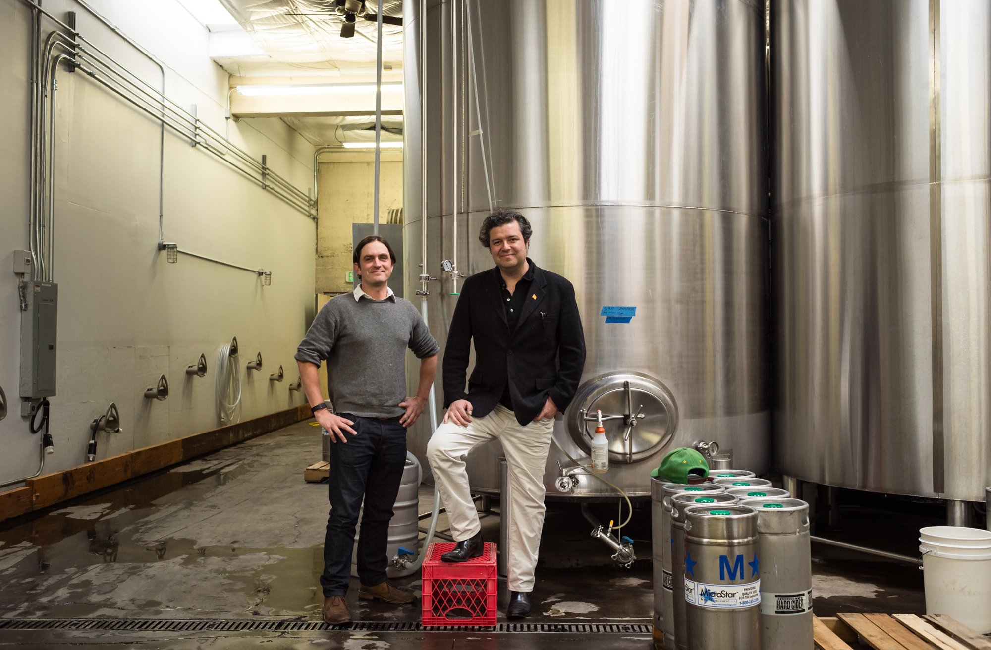 Dan McLaughlin and Chris Onstad of Portland Soda Works