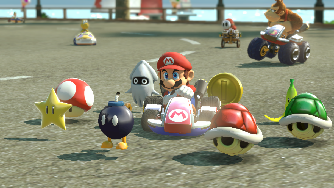 Mario Kart 8 players have no clue what coins do (But it's great design anyway)