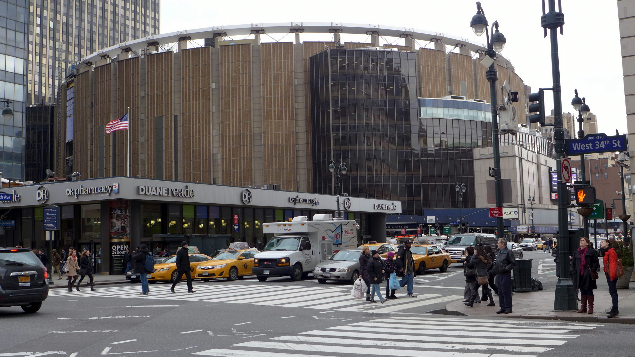 Madison Square Garden Eater NY