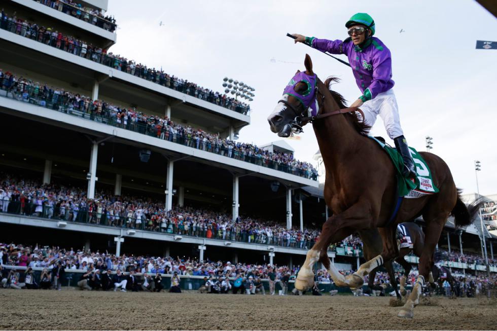 California Chrome's 2014 Derby triumph.