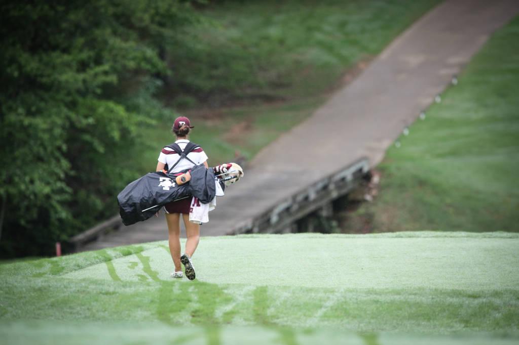 Bianca Fabrizio at the SEC Women's Golf Championship