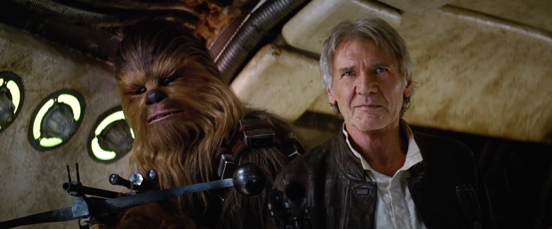 Star Wars: The Force Awakens behind the scenes footage includes Han Freaking Solo