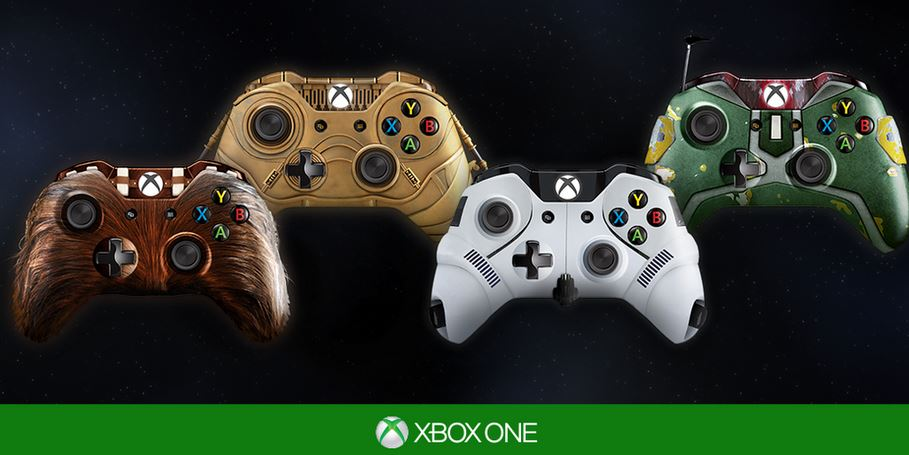 Four unbelievable Xbox One Star Wars controllers you're likely to never own