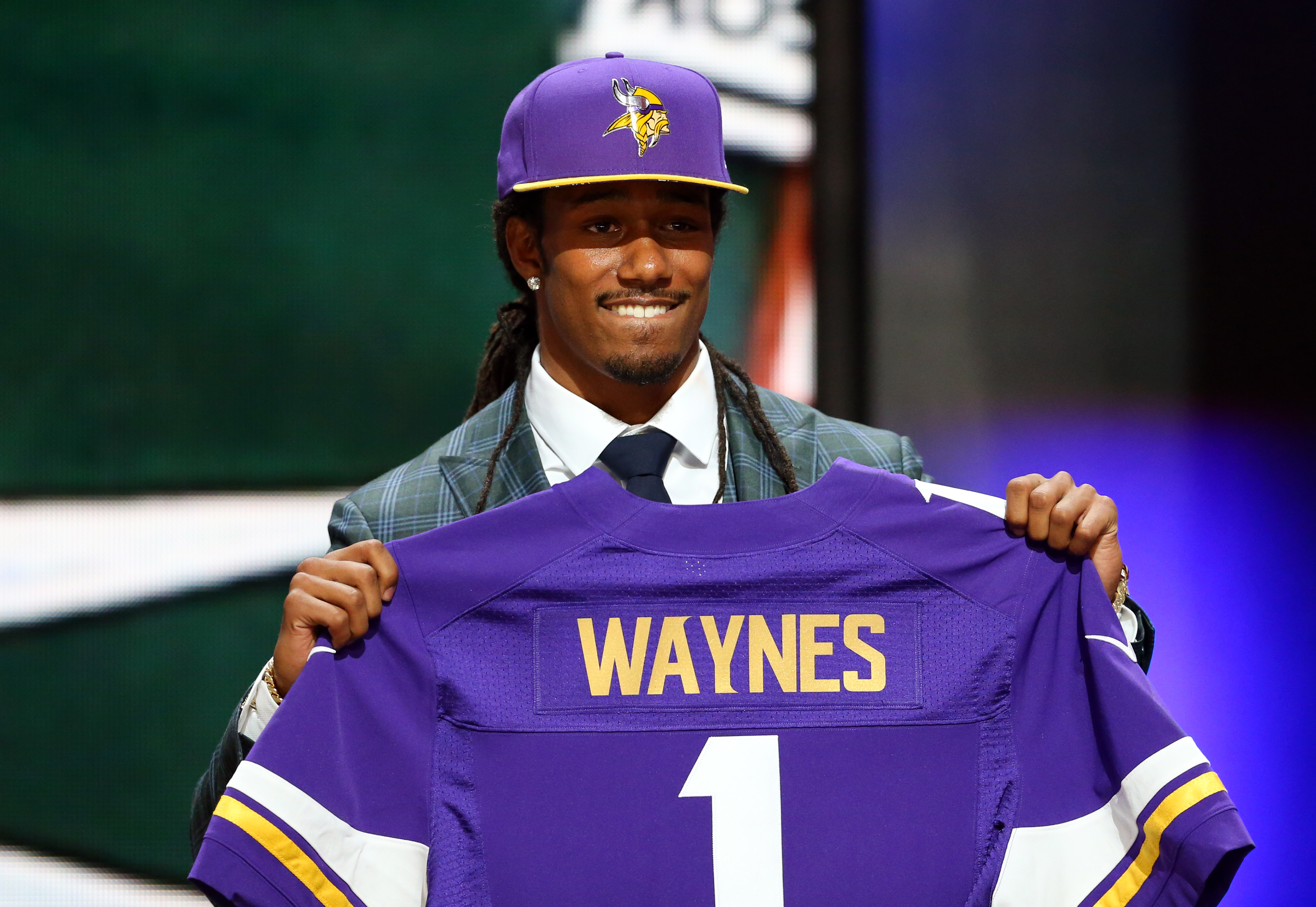 Trae Waynes won't wear #1 for the Vikings. What number will he wear?