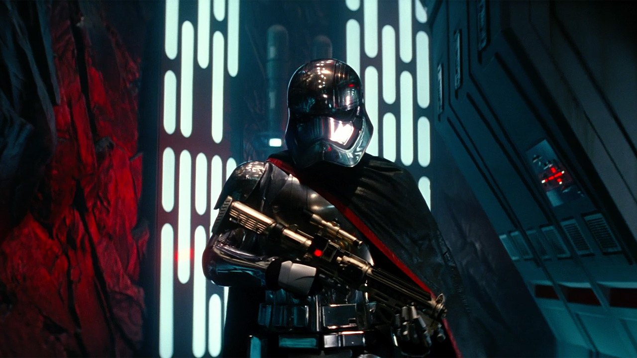 Star Wars: The Force Awakens' cool chrome trooper is played by Gwendoline Christie