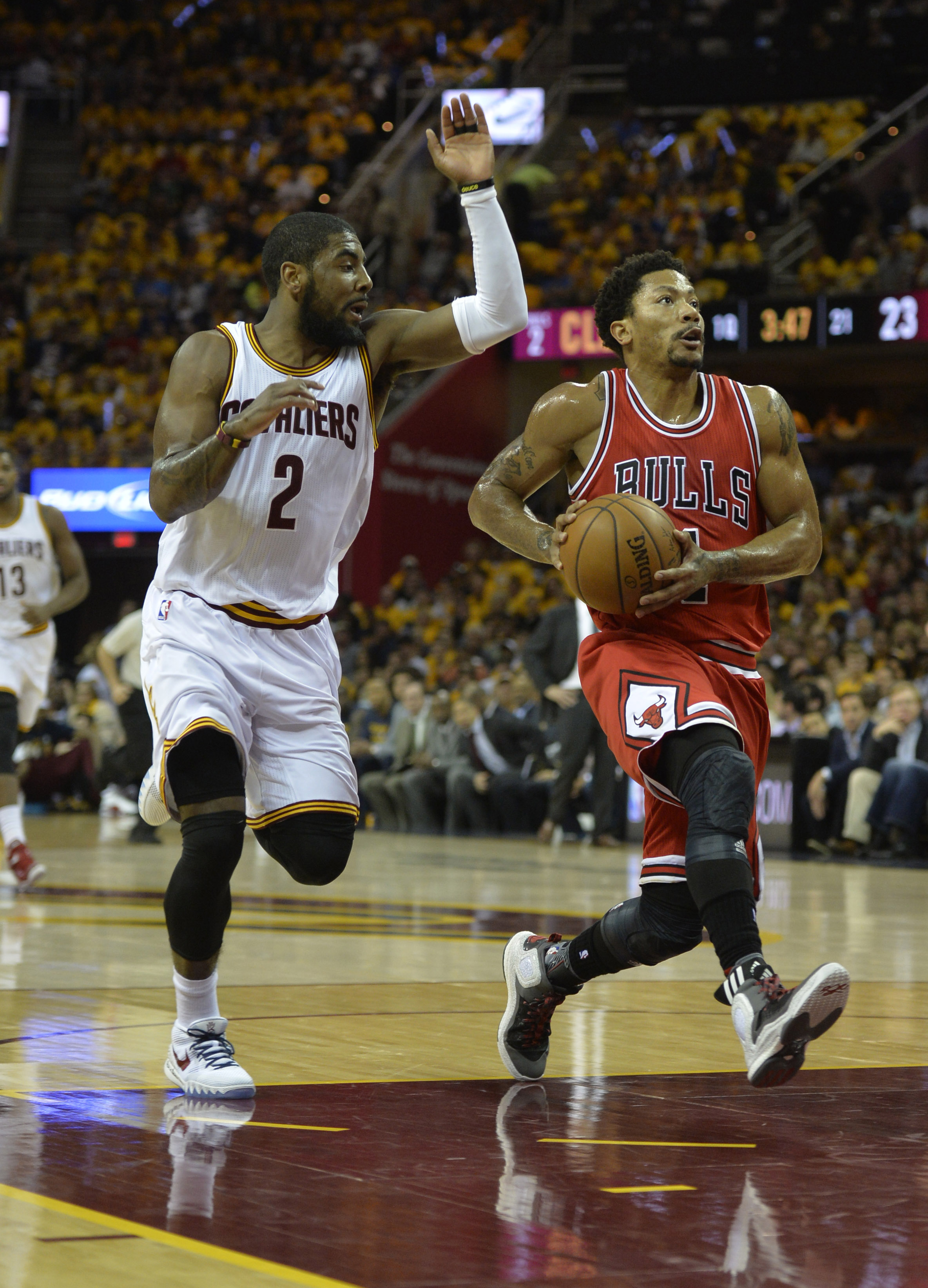 Bulls vs. Cavaliers 2015 results: Derrick Rose leads Chicago to 99-92 Game 1 win