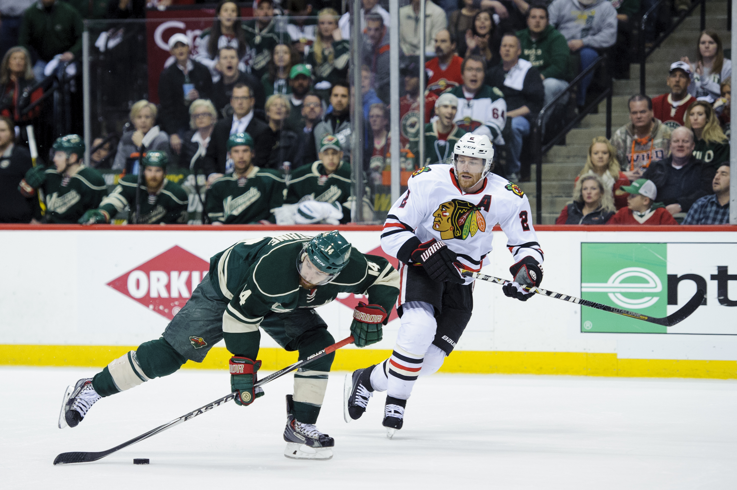 NHL playoffs schedule 2015: Wild, Flames try to avoid 3-0 deficits