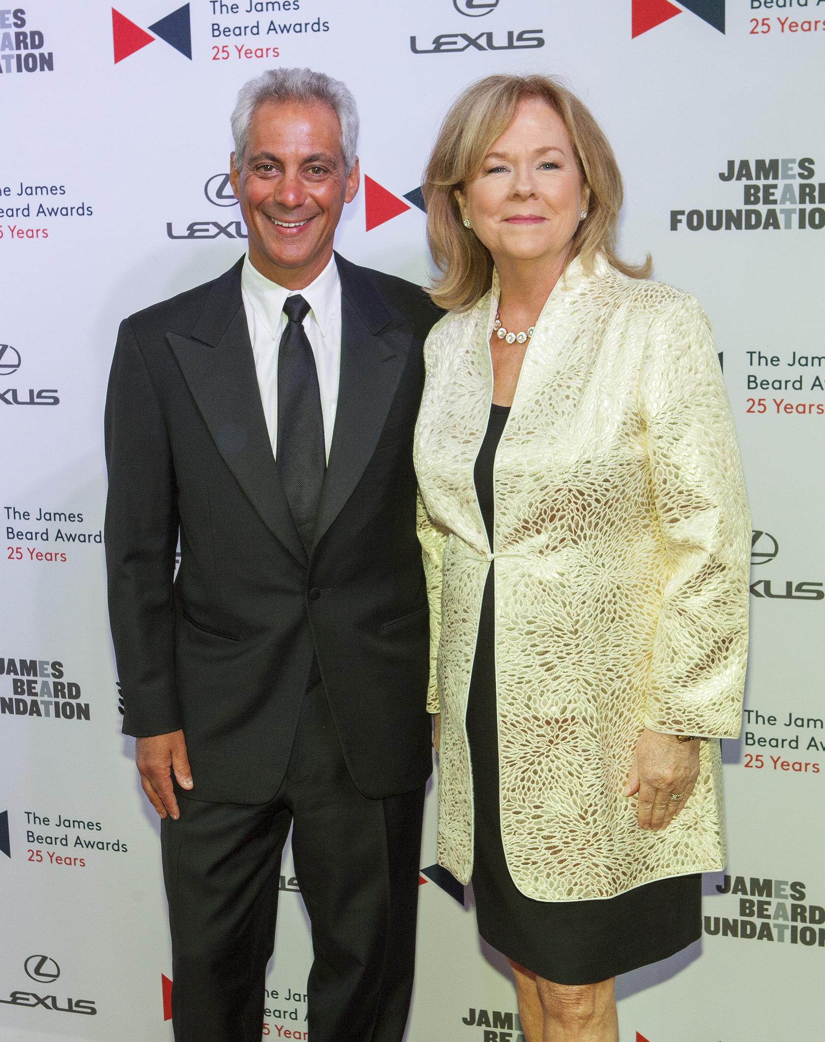 Rahm Emanuel and Susan Ungaro