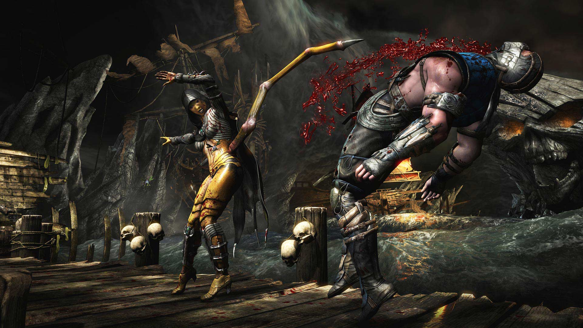 Mortal Kombat X's big PC patch rolled out today and killed players' save data