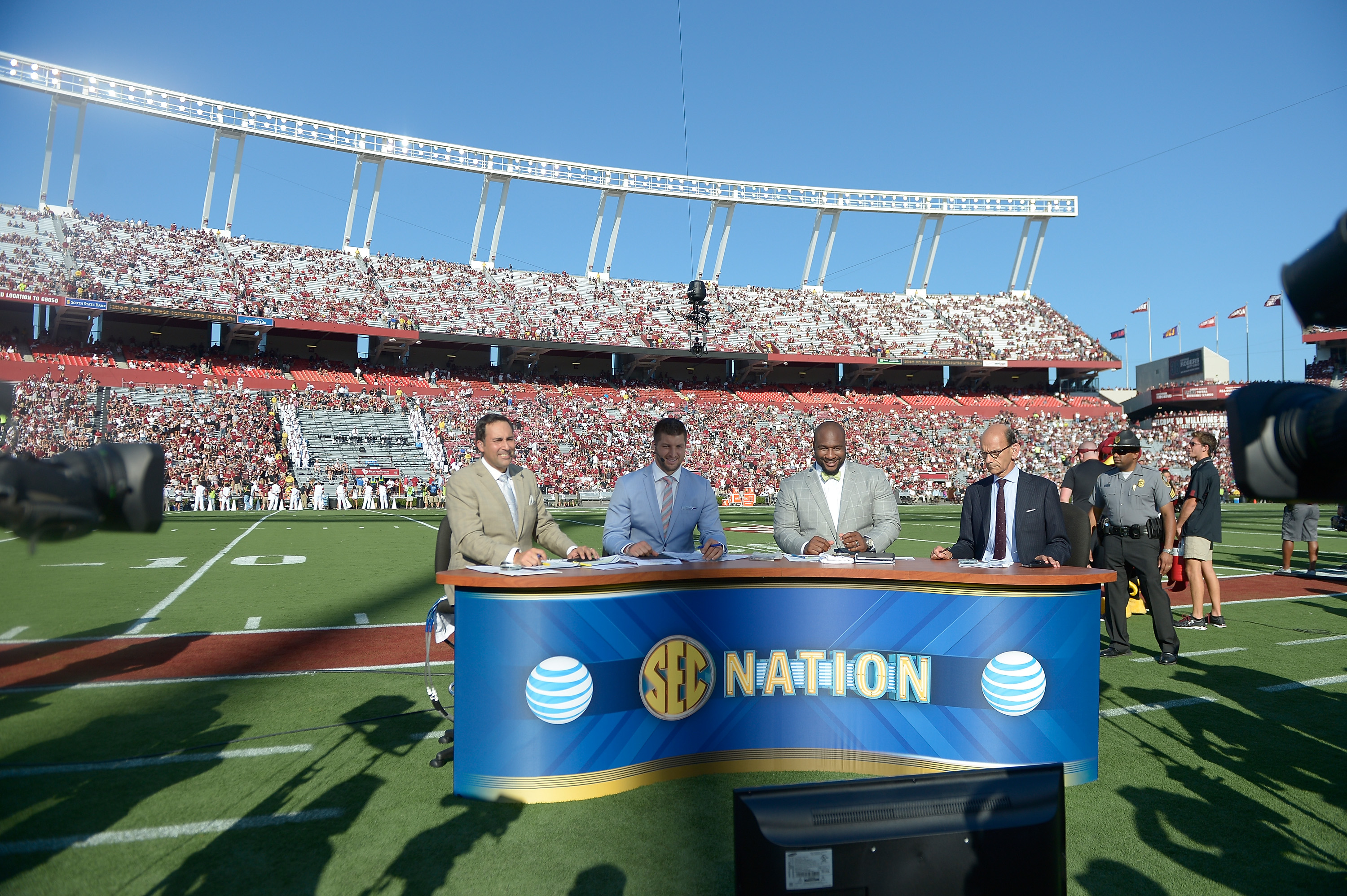 The SEC Network readies for their close-up.