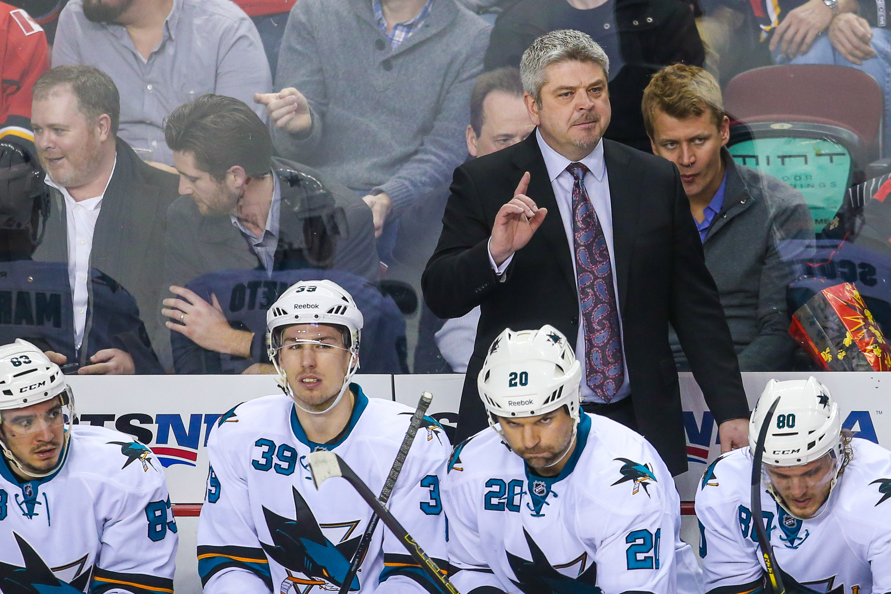 McLellan and the Oilers are openly flirting after his mutual breakup with the San Jose Sharks.