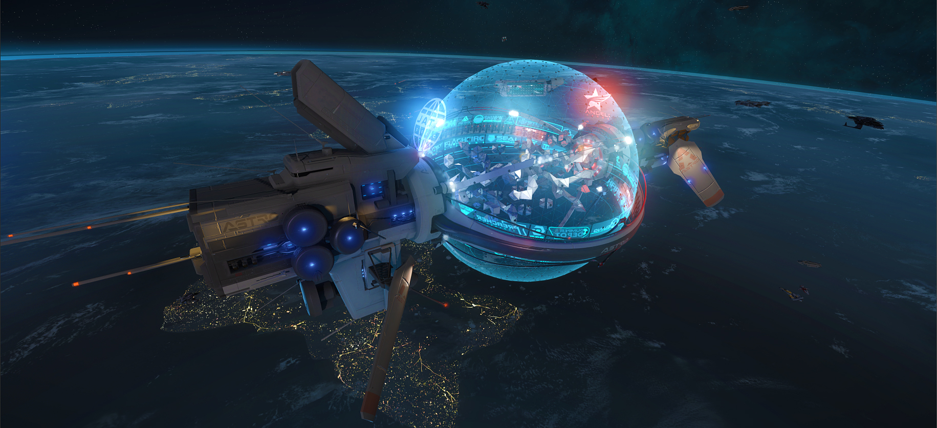 Where is Star Marine, Star Citizen's FPS? And how do you fight without gravity?