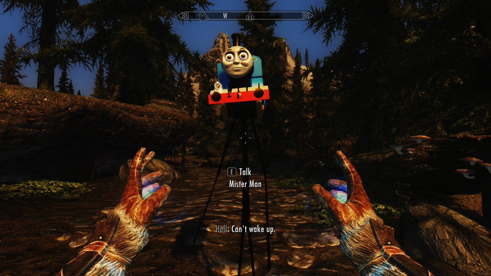 Does Thomas the Tank make the best or the worst Skyrim mod?