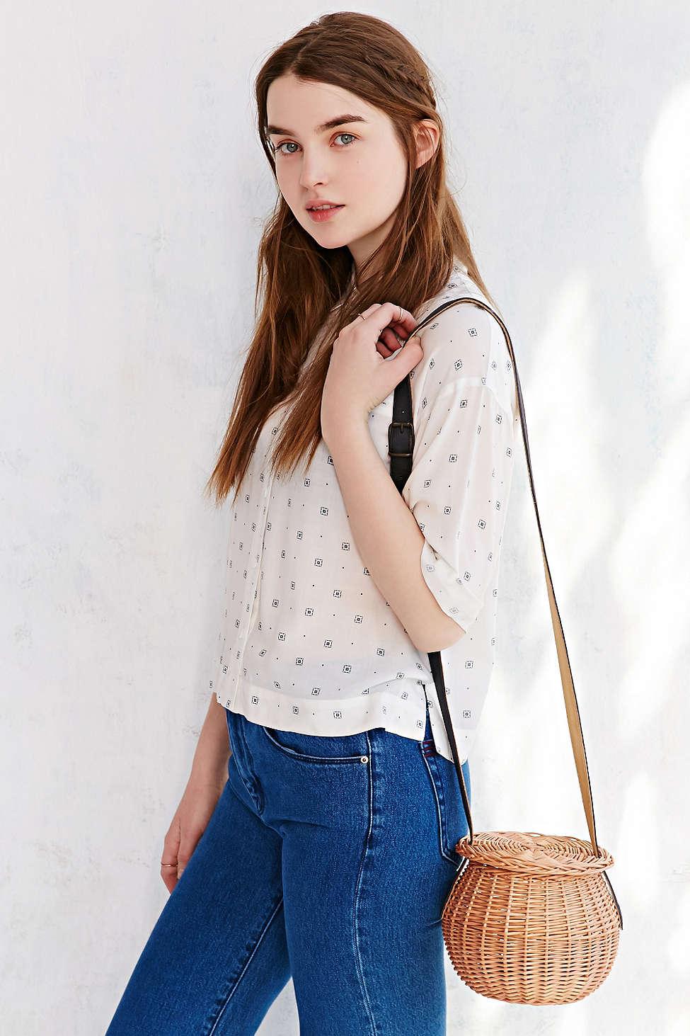 "Rosa Mosa wicker ball shoulder bag, <ahref=""http://www.urbanoutfitters.com/urban/catalog/productdetail.jsp"">$234</a>"