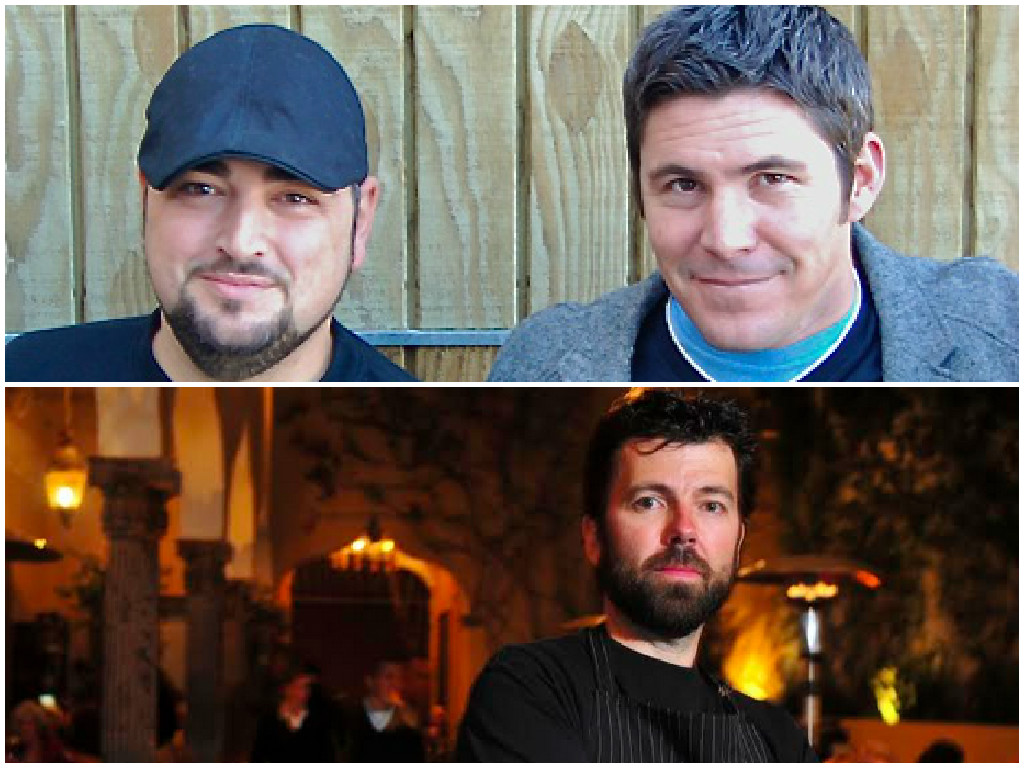 Top: Telmo Faria (left) and Joe Hargrave; Bottom: Donnie Masterton