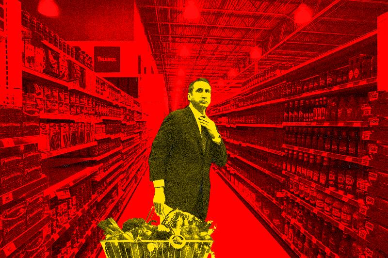 Grocery shoppin' with David Blatt!