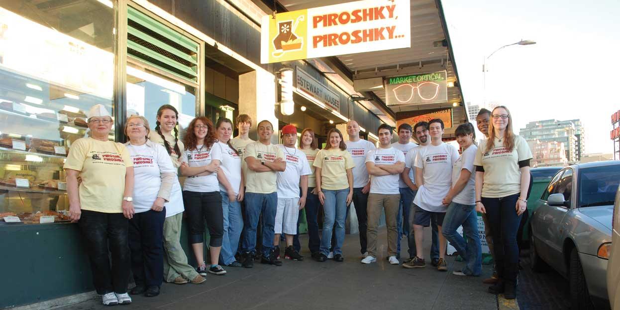 Piroshky Piroshky (Pike Place Market location pictured)