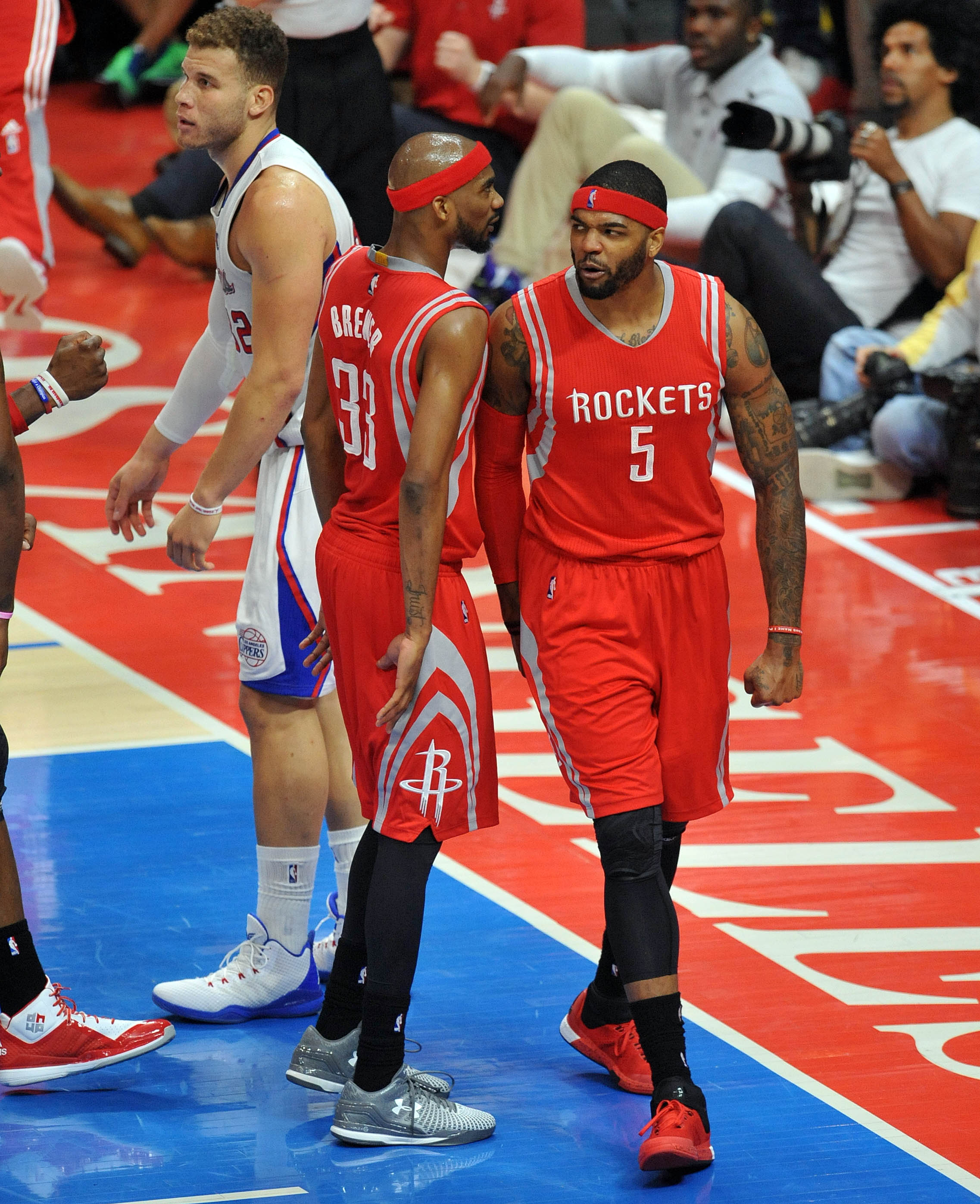 Houston Rockets Dream Shake: Rockets Vs. Clippers, NBA Playoffs 2015